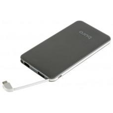 Мобильный аккумулятор Buro RCL-5000-BW Li-Pol 5000mAh 1A черный/белый 1xUSB RCL-5000-BW
