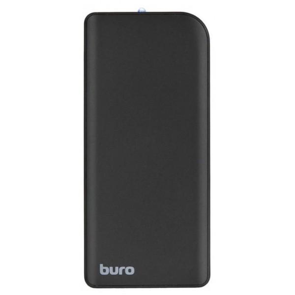 Мобильный аккумулятор Buro RCL-8000-BK Li-Pol 8000mAh 2.1A черный 2xUSB RCL-8000-BK