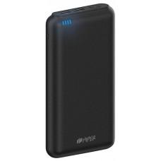 Мобильный аккумулятор Hiper sp20000 li-ion 20000mah 2.1a+1a черный 2xusb SP20000 BLACK
