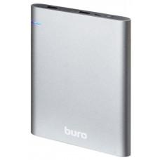 Мобильный аккумулятор Buro RCL-21000 Li-Pol 21000mAh 2.1A темно-серый 2xUSB