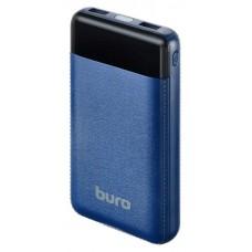Внешний аккумулятор Buro RC-16000-DB LI-ION 16000MAH 2.1A темно-синий 2XUSB RC-16000-DB