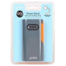 Внешний аккумулятор Gmini GM-PB044-B. 4400mAh. чёрный GM-PB044-B