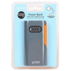 Внешний аккумулятор Gmini GM-PB026-G. 2600mAh. зелёный GM-PB026-G