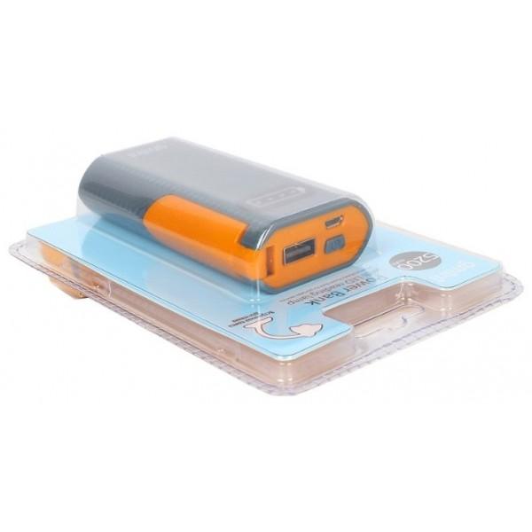 Внешний аккумулятор Gmini GM-PB026-W, 2600mAh, белый
