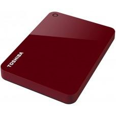 Внешний жесткий диск Toshiba Canvio Advance 1ТБ 2.5'' USB 3.0 HDTC910ER3AA красный HDTC910ER3AA