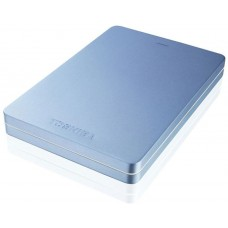 Жесткий диск Toshiba usb 3.0 500gb hdth305el3aa canvio alu 2.5'' голубой HDTH305EL3AA