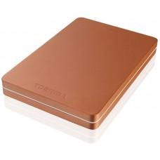 Жесткий диск Toshiba usb 3.0 500gb hdth305er3aa canvio alu 2.5'' красный HDTH305ER3AA