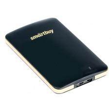 Внешний жесткий диск Smartbuy 1.8'' usb3.0 ssd 128gb s3 sb128gb-s3db-18su30 черный SB128GB-S3DB-18SU30