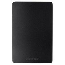 Внешний жесткий диск Toshiba Canvio Alu 1ТБ 2.5'' USB 3.0 HDTH310EK3AB черный HDTH310EK3AB