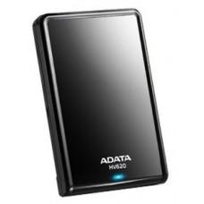 Внешний жесткий диск A-DATA HV620S. 1TB. 2.5'' . USB 3.1. slim. черный AHV620S-1TU31-CBK