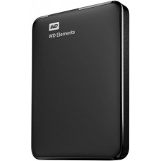Жесткий диск WD Original USB 3.0 1Tb WDBMTM0010BBK-EEUE Elements Portable 2.5'' черный