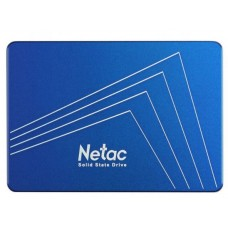Накопитель SSD 2.5'' Netac 128Gb N600S Series (NT01N600S-128G-S3X) Retail (SATA3, up to 510/440MBs, 3D TLC, 7mm)