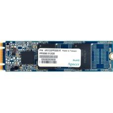 Накопитель M.2 2280 512GB Apacer Professional NAS Client SSD AP512GPPSS80-R SATA 6Gb/s, 540/490, IOPS 75/68K, MTBF 2M, 3D TLC, 128MB, 820TBW, 0.88DWPD, RTL