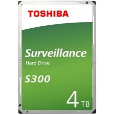 Жесткий диск TOSHIBA HDWT140UZSVA/HDKPB02Z0A01F S300 Surveillance 4ТБ 3,5'' 5400RPM 128MB SATA-III