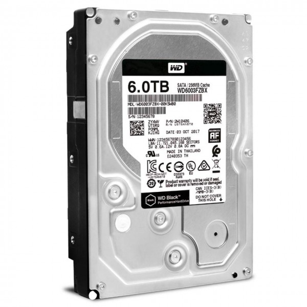 Western Digital 6Tb Black WD6003FZBX