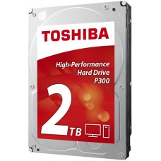 Жесткий диск Toshiba sata-iii 2tb hdwd120ezsta p300 (7200rpm) 64mb 3.5'' rtl HDWD120EZSTA