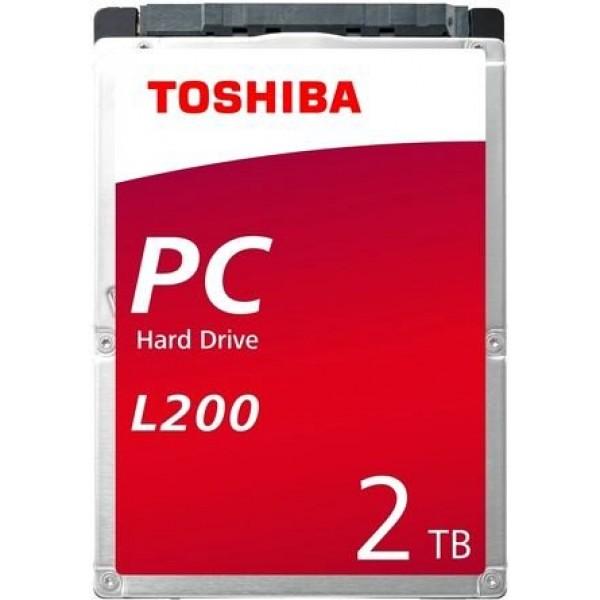 Жесткий диск Toshiba HDWL120EZSTA SATA-III 2Tb L200 (5400rpm) 128Mb 2.5'' Rtl HDWL120EZSTA