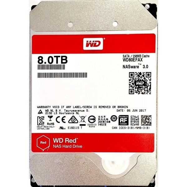Western Digital WD 8Tb Red WD80EFAX