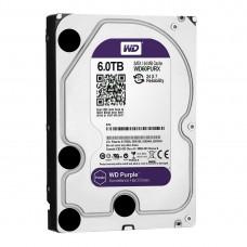 Жесткий диск wd sata-iii 6tb wd60purx purple (5400rpm) 64mb 3.5'' WD60PURX