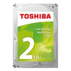 Жесткий диск Toshiba SATA-III 2Tb HDWA120UZSVA E300 Low-Energy (5700rpm) 64Mb 3.5'' HDWA120UZSVA