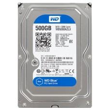 Жесткий диск WD SATA-III 500Gb WD5000AZLX Blue (7200rpm) 32Mb 3.5'' WD5000AZLX
