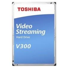 Жесткий диск Toshiba HDWU110UZSVA SATA-III 1Tb Video Streaming V300 (5700rpm) 64Mb 3.5'' HDWU110UZSVA