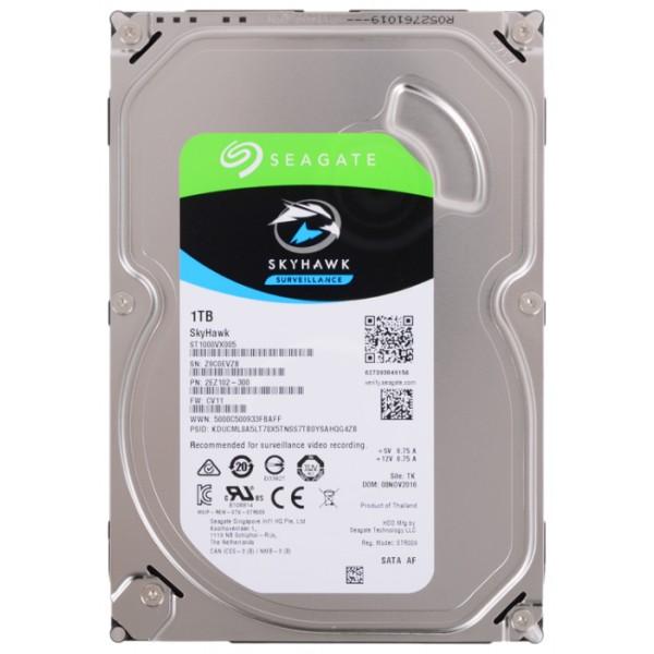 Жесткий диск Seagate sata-iii 1tb st1000vx005 skyhawk (5900rpm) 64mb 3.5'' ST1000VX005