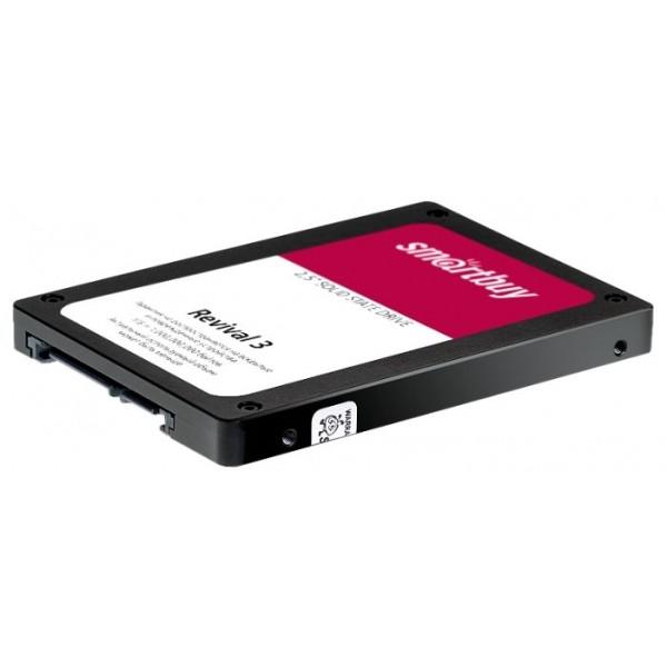 Накопитель Smartbuy SSD 240Gb Revival 3 SB240GB-RVVL3-25SAT3 {SATA3.0, 7mm}