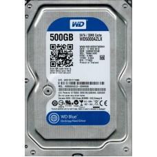 Жесткий диск 3.5 0500GB WESTERN DIGITAL WD5000AZLX