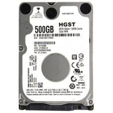 Жесткий диск sata 2.5'' Hgst 1w10098 500gb 7200rpm 32mb z7k500.b HTS725050B7E630