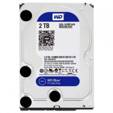 Жесткий диск 3.5 2000GB WD BLUE  WD20EZRZ