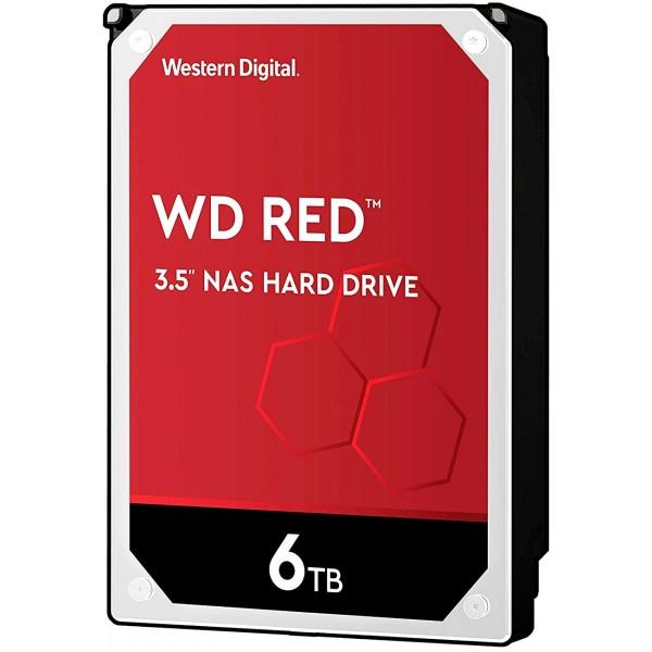 Жесткий диск SATA-III Western Digital 6Tb Red WD60EFAX