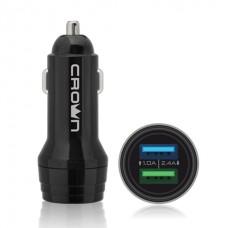Автомобильное универсальное зарядное устройство Crown CMCC-3011
