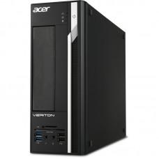 ПК Acer Veriton X2640G SFF P G4560 (3.5)/4Gb/500Gb 7.2k/HDG610/Free DOS/GbitEth/220W/клавиатура/мышь/черный DT.VPUER.159