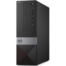 ПК Dell Vostro 3267 SFF P G4400 (3.3)/4Gb/1Tb 7.2k/HDG510/Linux Ubuntu/GbitEth/клавиатура/мышь/черный 3267-5076