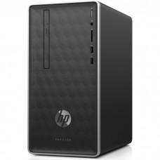 Персональный компьютер HP Pavilion 590-a0004ur  AMD E-Series E2-9000(1.8Ghz)/4096Mb/1000Gb/DVDrw/Int:AMD Radeon R2/Ash Silver/DOS + USB KBD 4KC63EA#ACB