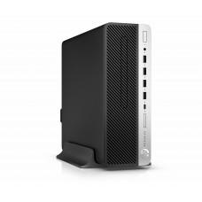 ПК HP ProDesk 400 G5 SFF i3 8100 (3.6)/8Gb/SSD256Gb/UHDG 630/DVDRW/Windows 10 Professional 64/GbitEth/180W/клавиатура/мышь/черный